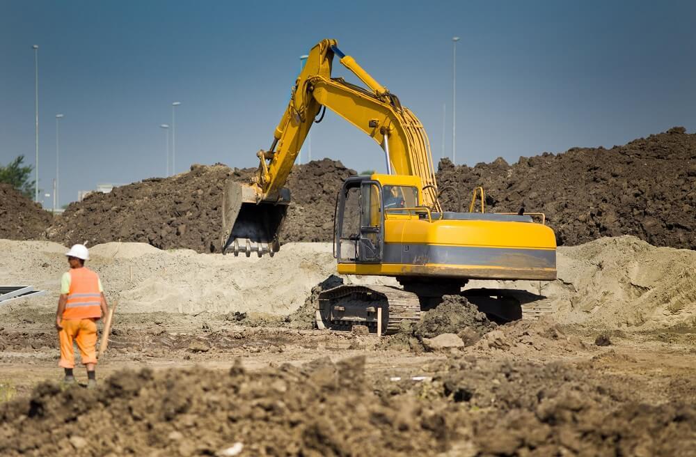 sprzedaż maszyn budowlanych