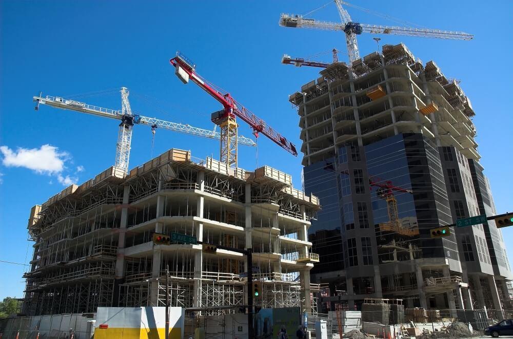 podesty na budowie