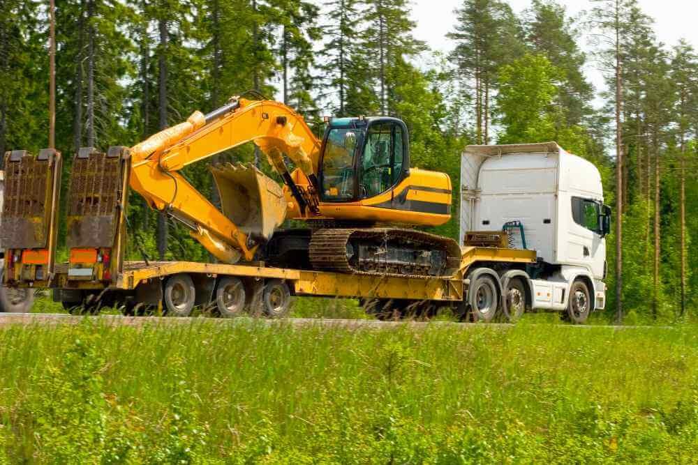 transport maszyn budowlanych białystok